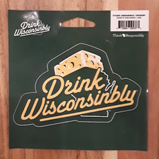 Drink Wisconsinbly Sticker - Drink Wisconsinbly