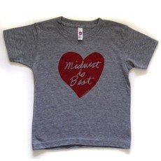 Megan Lee Designs Midwest is Best - Youth Tee