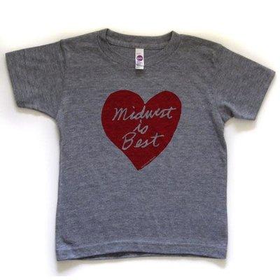Megan Lee Designs Midwest is Best - Youth Tee