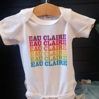 Volume One Onesie - Eau Claire Rainbow