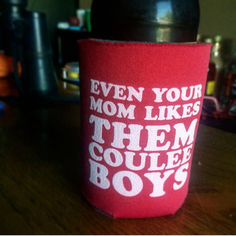 Them Coulee Boys Them Coulee Boys Koozie