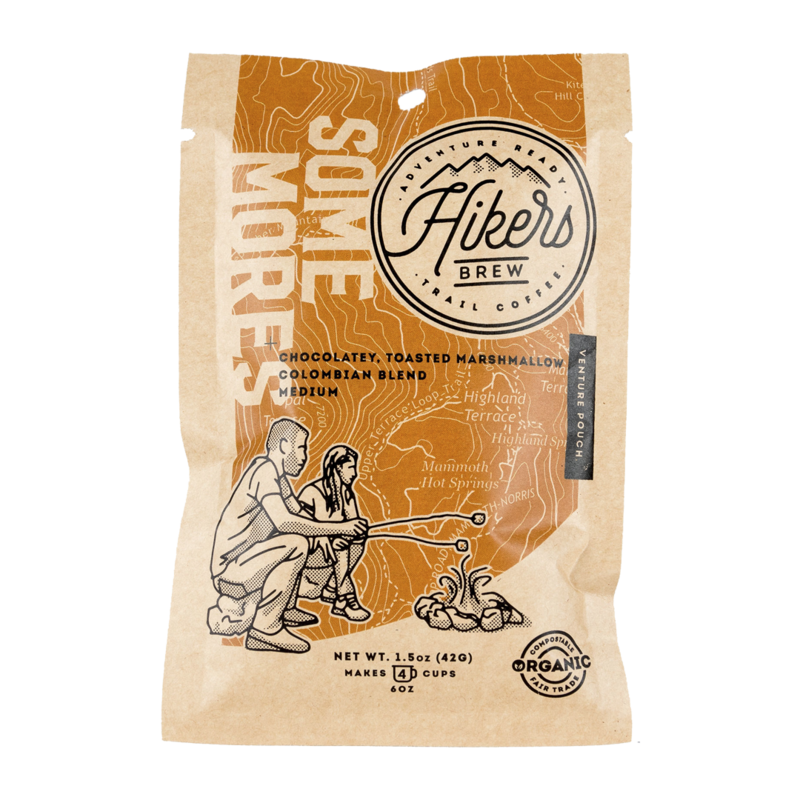 Hikers Brew Coffee Venture Pouch - Some Mores