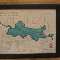 Framed Art - Lake Altoona (11x14)