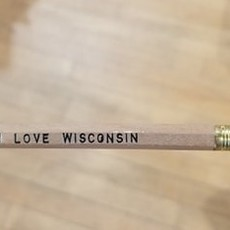Volume One Pencil - I Love Wisconsin