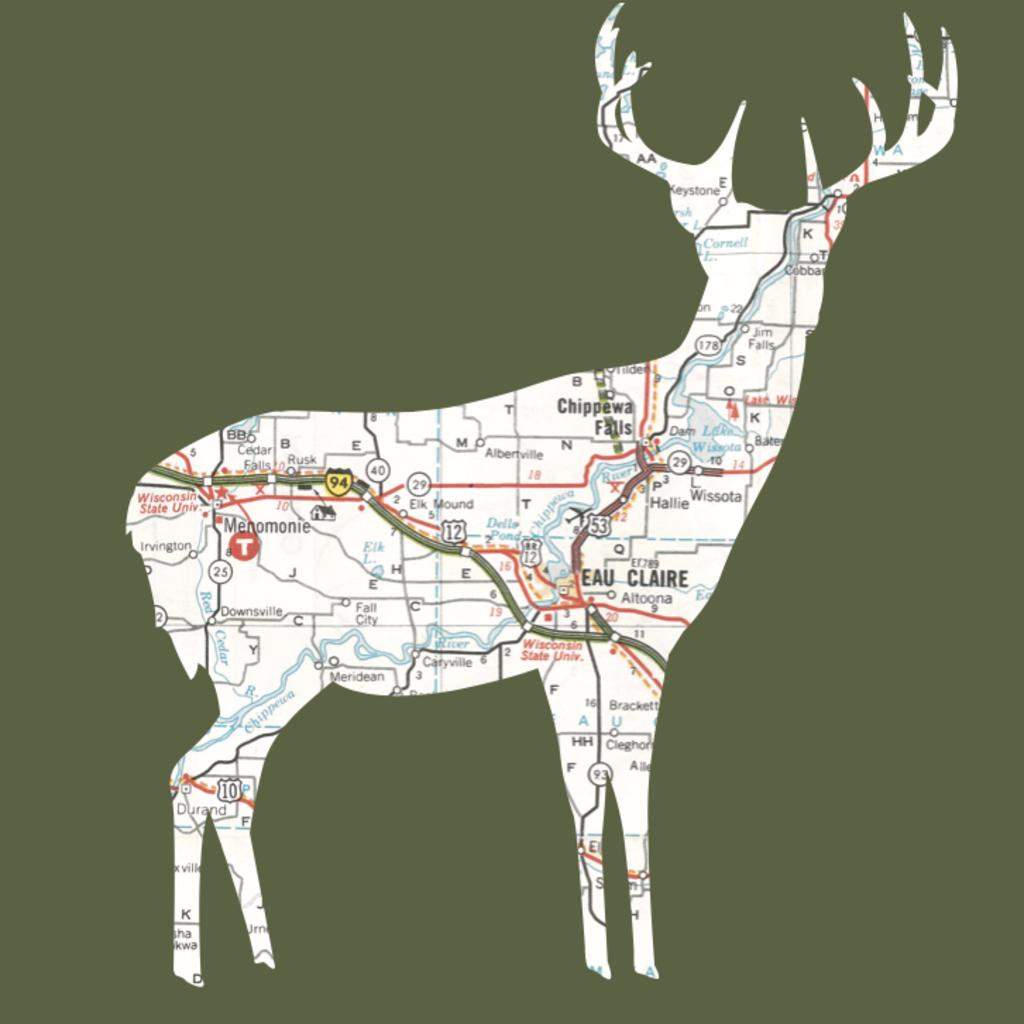 Volume One Animal Map Mini Print