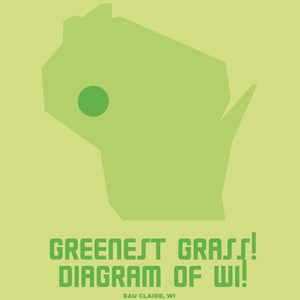 """Volume One Greenest Grass of WI - Mini Print - 8.5"""" x 11"""""""
