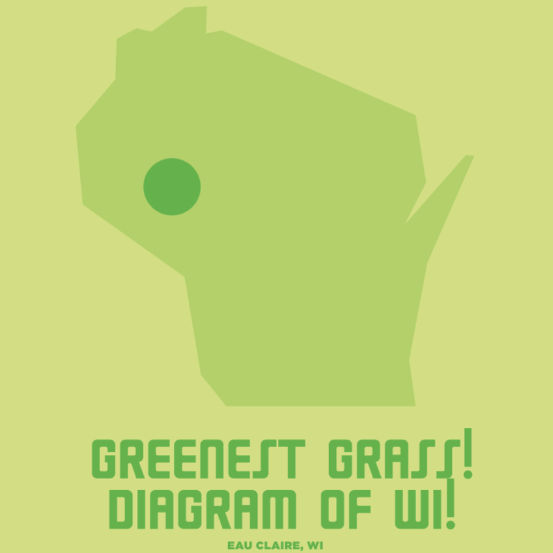 "Volume One Greenest Grass of WI - Mini Print - 8.5"" x 11"""