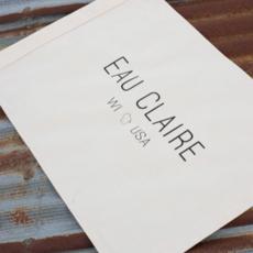 Eau Claire Flag / Banner - Natural Canvas