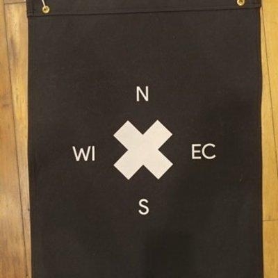 Eau Claire Flag / Banner - Black