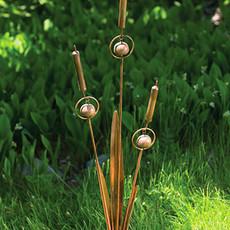 Volume One Garden Stake - Cattail