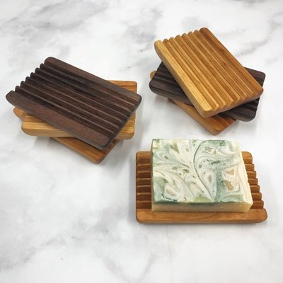 Endle Home Goods Wood Soap Dish