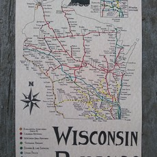 Wisconsin Railroads Map