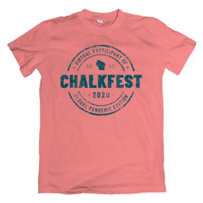 Volume One Historic Virtual Chalkfest 2020 T-shirt
