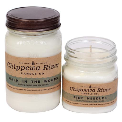 Chippewa River Candle Co. Wildflowers Large Mason Jar Candle 16 oz