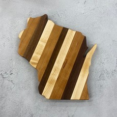 Endle Home Goods Wood Wisconsin Cutting Board