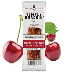 Simply Snackin' Protein Jerky Snack - Chicken n Cherries