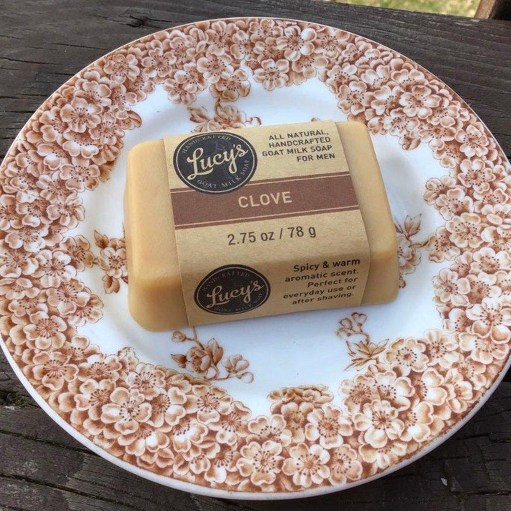 Lucy's Goat Milk Soap Lucy's Goat Milk Soap - Clove Handbar