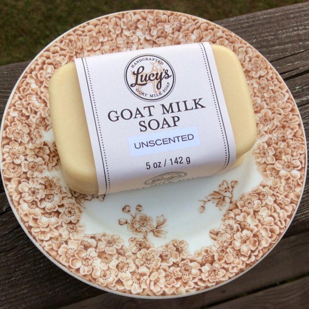 Lucy's Goat Milk Soap Lucy's Goat Milk Soap - Unscented Bath Bar