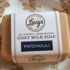 Lucy's Goat Milk Soap Lucy's Goat Milk Soap - Patchouli Handbar
