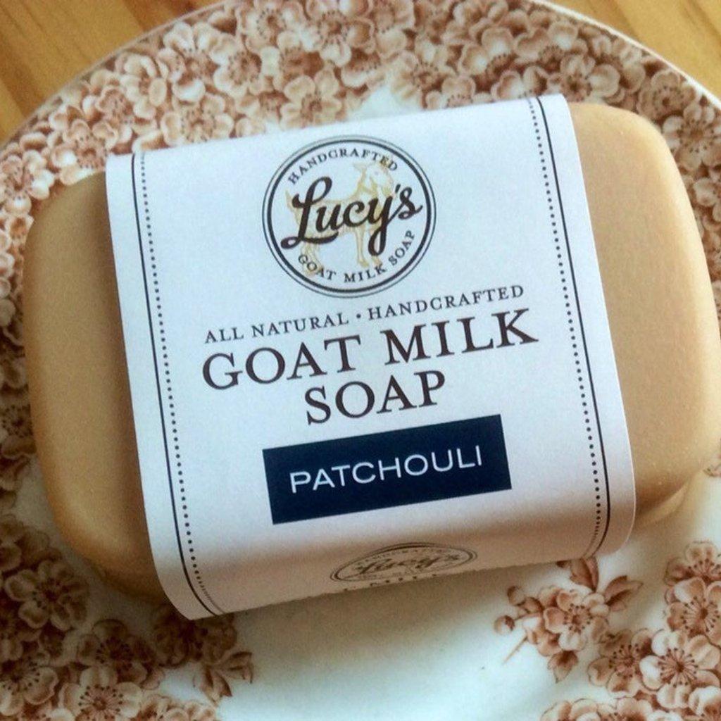 Lucy's Goat Milk Soap Lucy's Goat Milk Soap - Patchouli Bath Bar