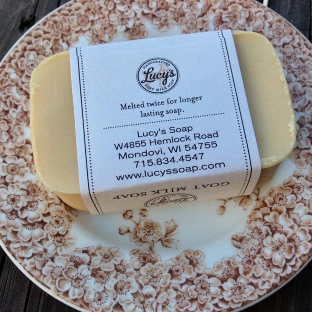 Lucy's Goat Milk Soap Lucy's Goat Milk Soap - Lilac Bath bar