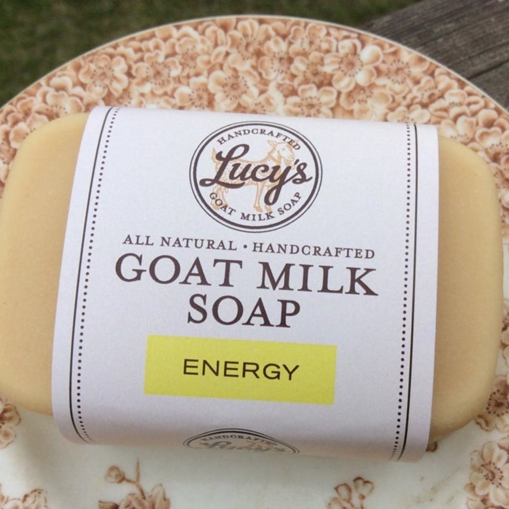 Lucy's Goat Milk Soap Lucy's Goat Milk Soap - Energy Bath Bar