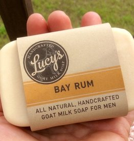 Lucy's Goat Milk Soap Lucy's Goat Milk Soap - Bay Rum Bath Bar