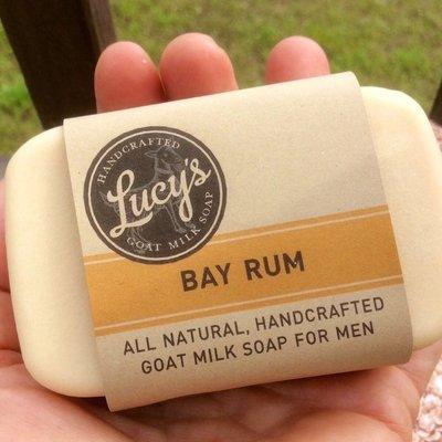 Lucy's Goat Milk Soap Lucy's Goat Milk Soap - Bay Rum Bath Bar