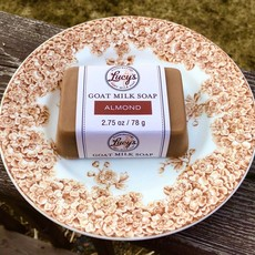 Lucy's Goat Milk Soap Lucy's Goat Milk Soap - Almond Handbar