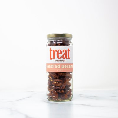 Treat Handmade Candied Pecans (7 oz. Jar)