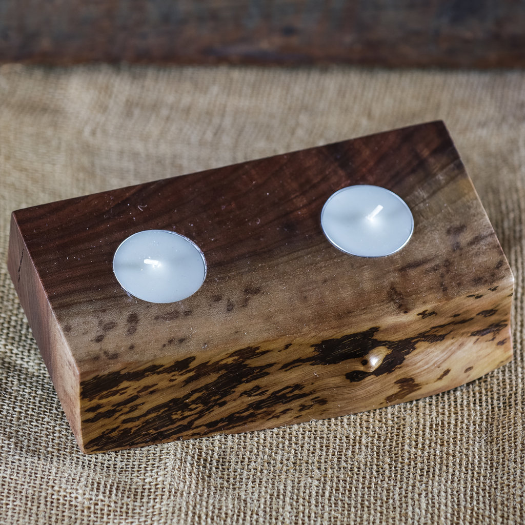 Tree Purpose of Eau Claire Candle Votive (Small w/ Tea Lights)