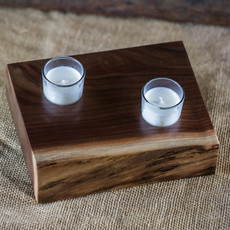 Tree Purpose of Eau Claire Candle Votive - Large (Live Edge)