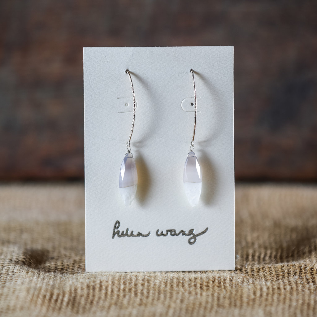 Helen Wang Jewelry Earrings - Champagne Agate
