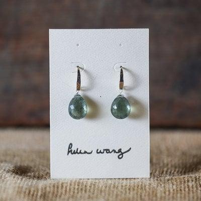 Helen Wang Jewelry Earring - Moss Aquamarine