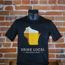 Volume One Drink Local Beer Tee