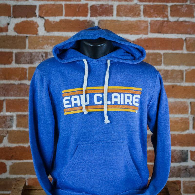 Volume One Retro Blue Eau Claire Hoodie