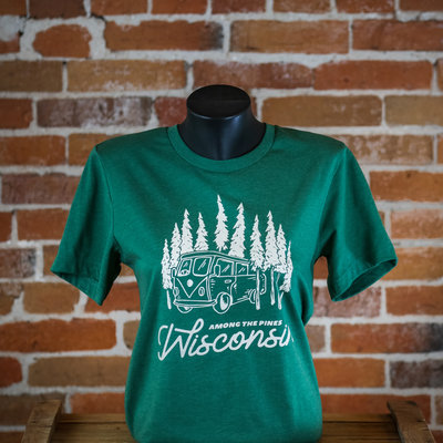 Volume One Among the Pines Wisconsin Tee