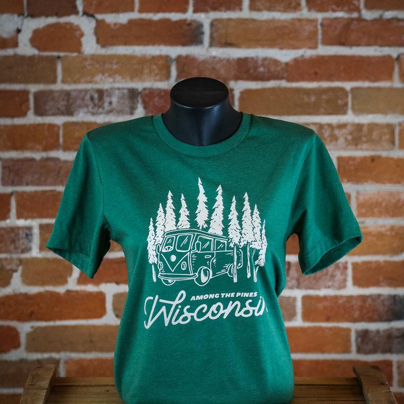 Volume One Among the Pines Wisconsin Tee