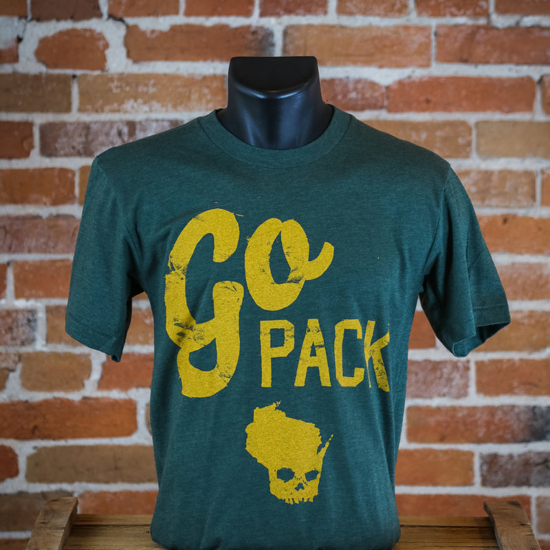 Wiskullsin The Go Pack Tee