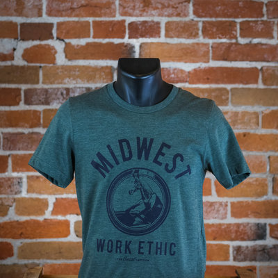 The Social Department Midwest Work Ethic Tee