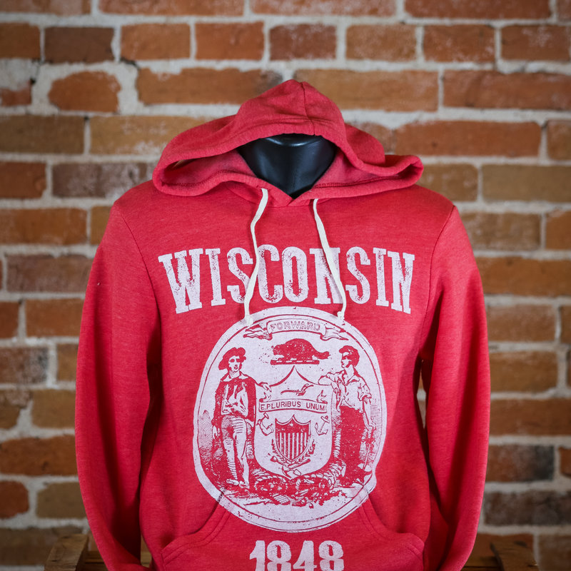 Orchard Street Apparel WI State Seal Hoodie