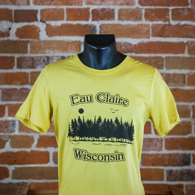 Volume One Eau Claire Trees Camp Tee