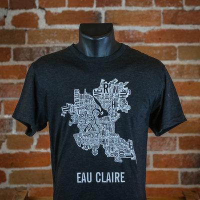 Volume One Eau Claire Boundaries Tee (Vintage Black)