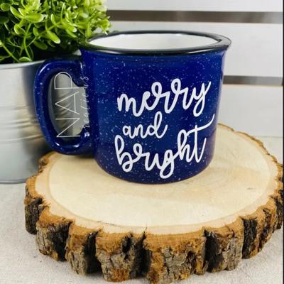 NAP Creations Merry & Bright Campfire Mug