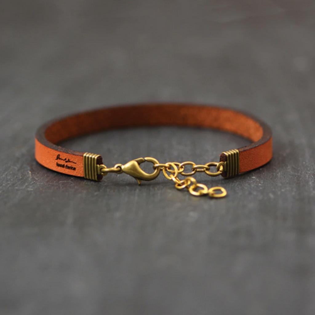 Laurel Denise LLC Leather Bracelet - Book Nerd