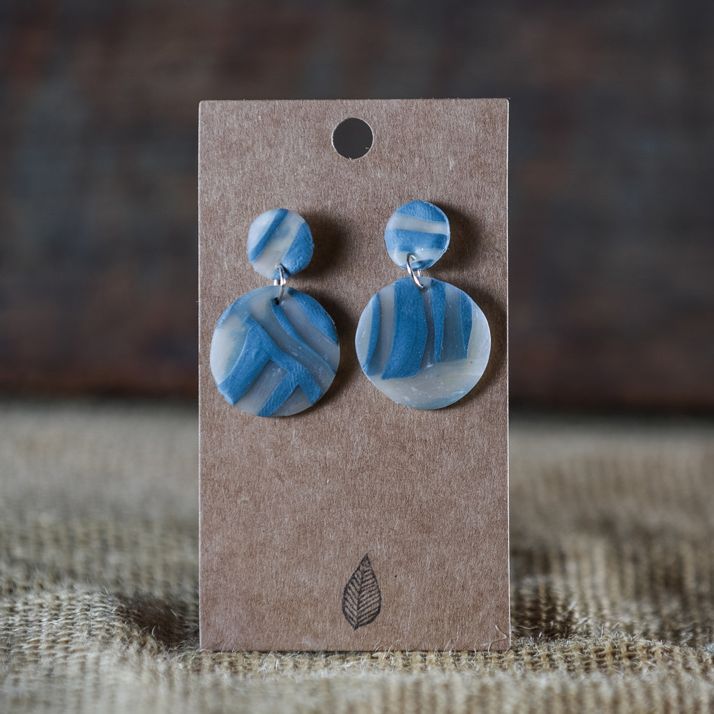 Elemental Clay Earrings - Group Two