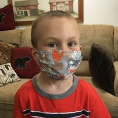 Deb Christenson Face Mask (Pattern) - Kids (5-10)