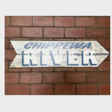 Volume One Chippewa River Arrow - Right Wooden Sign
