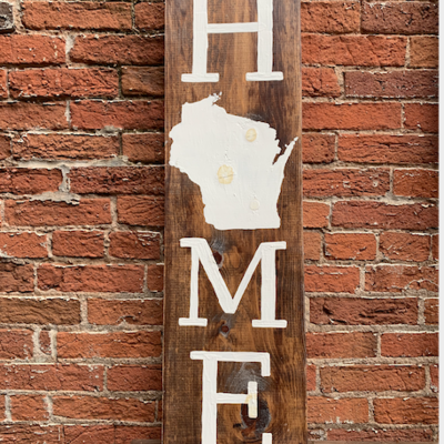 Chicory Lane & Co. Home Sign - Vertical 3 Foot