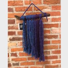Joy Terrell Macrame Wall Hanging w/ Stick - Large